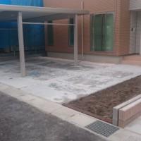 駐車場 コンクリート工事